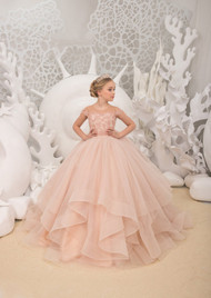 Wedding Birthday Party Flower Girl Dress Tulle Special Occasion Girl Dress