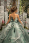 Kids Formal Flower Girl Special Occasion Dress Pageant Girl Tulle Gown