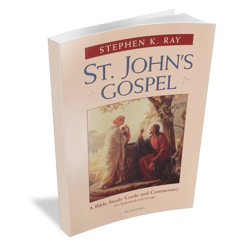 St  John's Gospel: A Bible Study Guide & Commentary (signed)