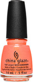 China Glaze Nail Polish Lacquer TROPIC OF CONVERSATION - .5oz
