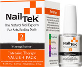 Nail Tek Intensive Therapy II For Soft, Peeling Nails - 4pk of 15 mL - 55808
