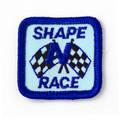 Shape N Race Patch - CLOSEOUT BULK PRICES