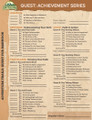 Battalion Achievement Record Sheets Adventure Trails Quest & Leadership Trails -10 pak
