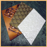 Faux Tin Backsplash Sample Pack