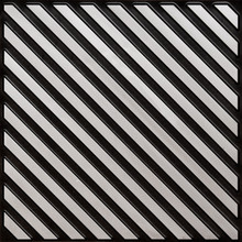 241 Faux Tin Ceiling Tile - Antique Silver