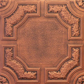 R28A Antique Copper Extruded Styrofoam Ceiling Tile 20x20
