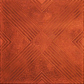 R34 Antique Copper Extruded Styrofoam Ceiling Tile 20x20