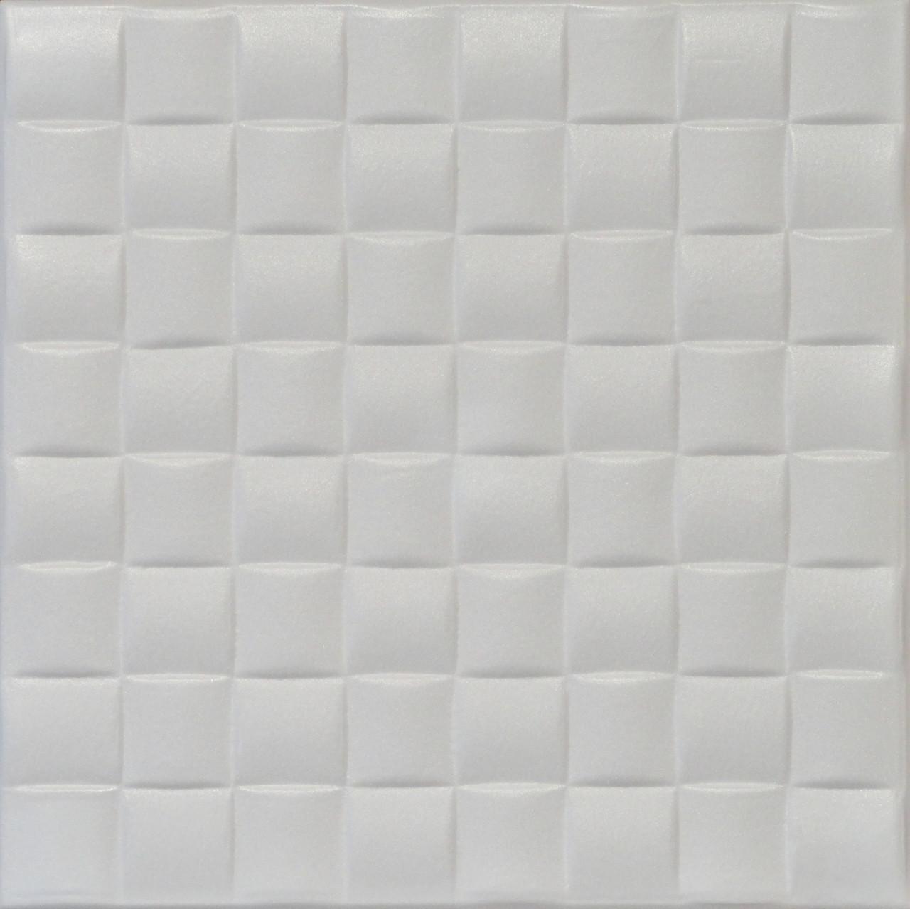 R35 Old Design Plain White Styrofoam Glue Up Ceiling Tile