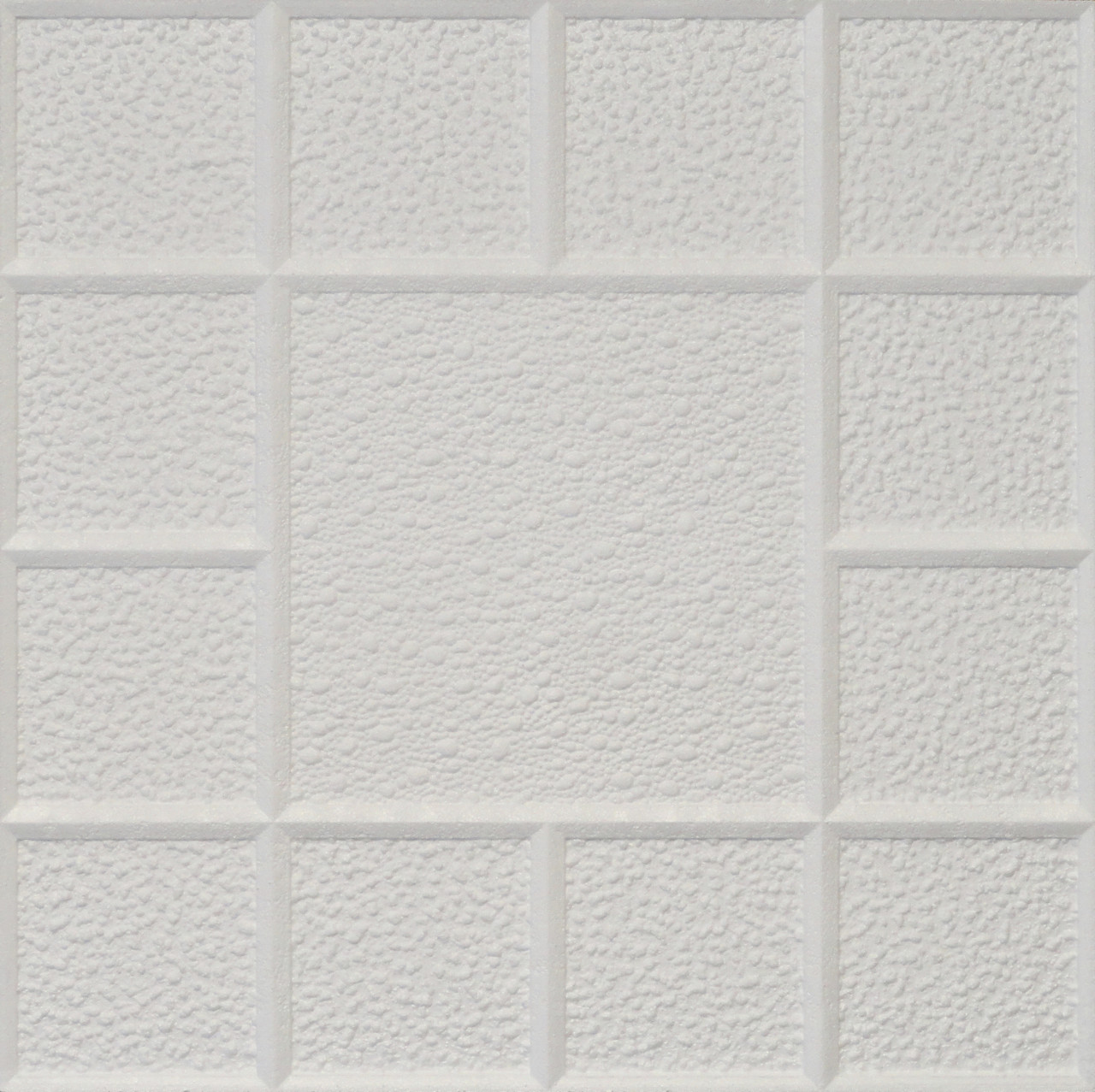 Extra Thick C18 York Styrofoam Ceiling Tile 20x20 Euro Deco Ceilings