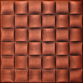 R25 Antique Copper 20x20 Styrofoam Ceiling Tile AS IS