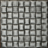 R35 Antique Silver 20x20 Styrofoam Ceiling Tile AS IS