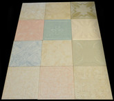 Photography backdrop collage Mix of Various Ceiling Tiles Lot of 12 - Various Colors 2