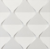 "3D Wall Panel Styrofoam, 23.6""x23.6"", Harmony - AS IS"
