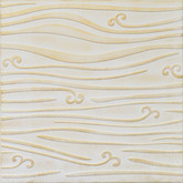 "R102 Washed Gold Styrofoam Glue Up Ceiling Tile 20""x20"""