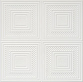 "R11 Ultra Pure White BEHR Styrofoam Glue Up Ceiling Tile 20""x20"""
