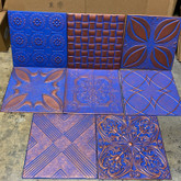 Mixed Blue Copper LOT of 8pcs AS IS