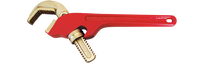 "14"" 45 Degree Hex Pipe Wrench with jaws at 2"""