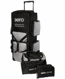 Aero Stand Up Tour Wheelie Cricket Kit Bag