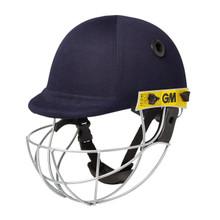 Gunn & Moore (GM) Icon Geo Cricket Helmet' Navy