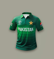 Pakistan Official Players Edition Original World Cup 2019 Shirt