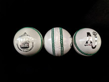 AJ Sports Super Test 5.5 oz Cricket Ball-White