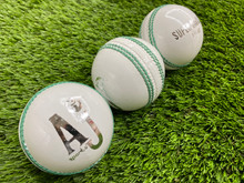 AJ Sports Super Cavalier  5.5 OZ Cricket Ball- White