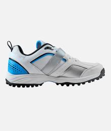 HS Core 7 Cricket Rubber Studs Shoes' Wht/Blue