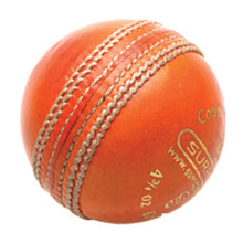Stuart Surridge County Cricket Ball,Orange'Jr