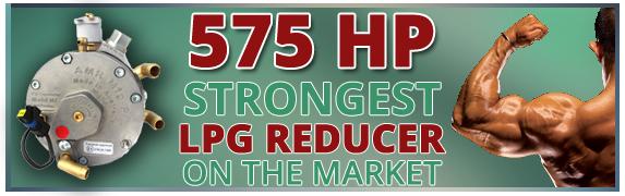 strongest high power reducer lpg autogas propane vaporizers pressure regulator