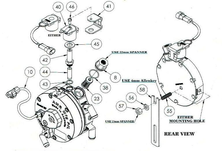 AMR M7 575HP LPG Pressure Reducer