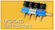 LPG CNG Injectors ails Single