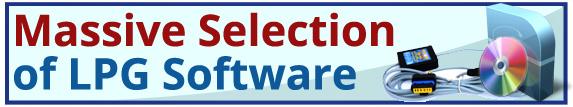 Autogas LPG Diagnostic Software Calibration Program ECU Programming