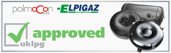 UKLPG approved autogas LPG tanks from Elpigaz Polmocon