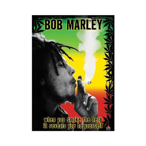 Bob Marley Herb Small Blockmount Wall Hanger