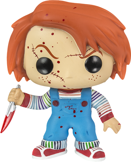 Bloody Chucky Childs Play Pop Horror Movies Vinyl Figure