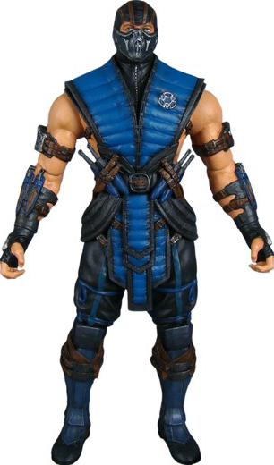 Sub Zero Mortal Kombat Mezco 6 Quot Collectible Figure