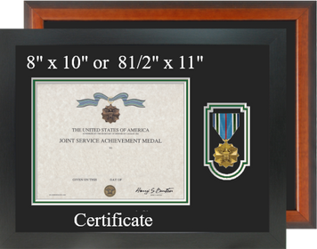 Joint Service Achievement Medal Certificate Frame-Horizontal