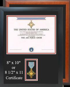 Air Force Cross Certificate Frame