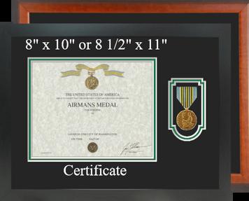 Airmans Certificate Frame-Horizontal