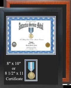 Antarctica Service Certificate Frame