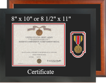 Army Reserve Components Achievement Certificate Frame-Horizontal