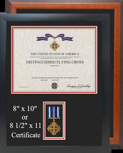 Distinguished Flying Cross Certificate Frame