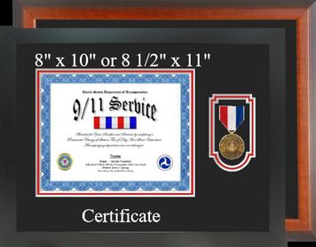 DOT 9 11 Service Certificate Frame-Horizontal