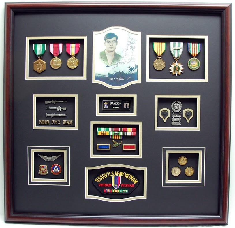 Vietnam Shadow Box Display Military Memories And More