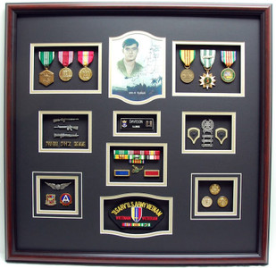 Vietnam Shadow Box Display