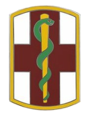 1st Medical Brigade Combat Service Identification Badge (CSIB)