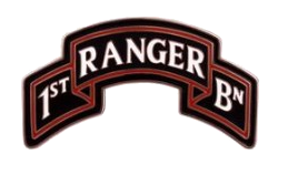 1st Ranger Battalion Scroll - 75th Regiment Combat Service Identification Badge (CSIB)