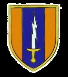 1st Signal Brigade Combat Service Identification Badge (CSIB)