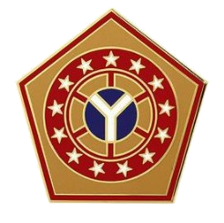 108th Sustainment Brigade Combat Service Identification Badge (CSIB)
