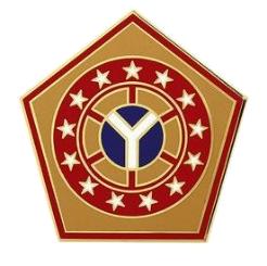 108th Sustainment Brigade Combat Service Identification Badge (CSIB)